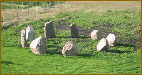Stone Circle in Wolfsburg